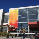 Apple Dressing up Yerba Buena Center for iPad 3's Media Event