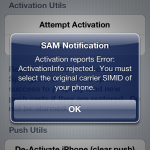 How to Fix Activation Reports Error on SAMPREF While Unlocking iPhone