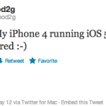 Pod2g Makes iOS 5.1 Untethered Jailbreak Successful on his iPhone 4, Release Near