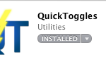 SBSettings Like App for MAC OS X Called Quick Toggle (Review)