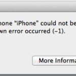 How To Fix Most Common Errors While Restoring/Updating iDevices
