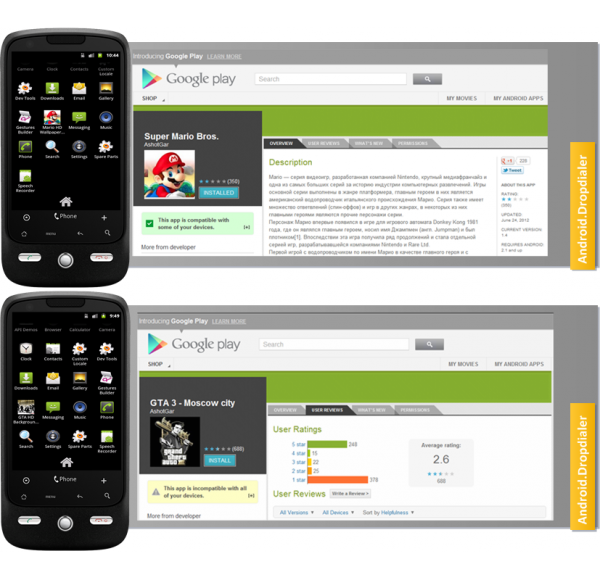 Android_Dropdialer