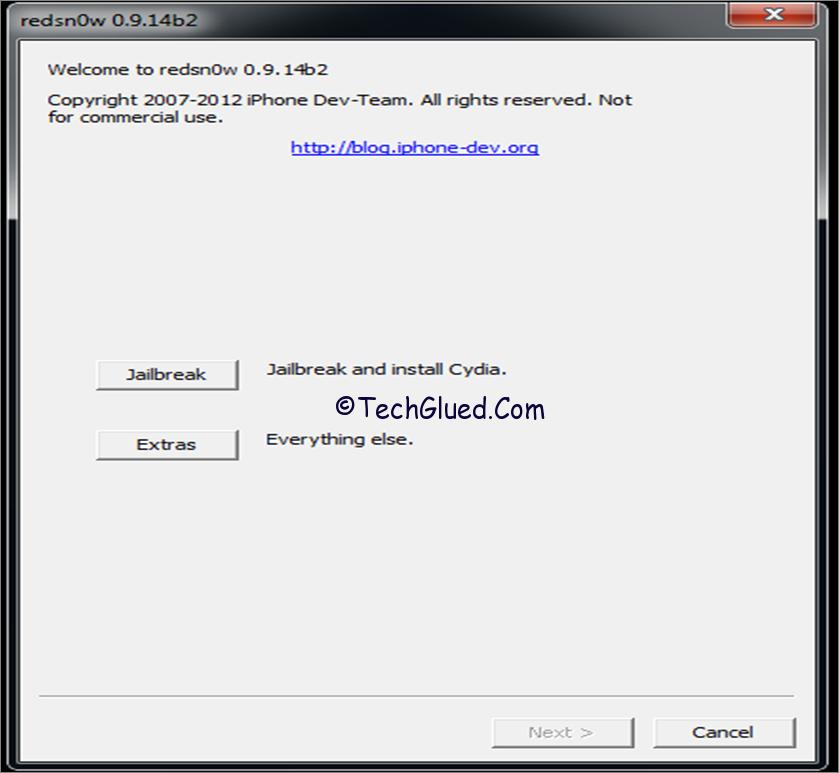 Redsnow 0.9.14b2