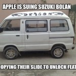 Suzuki Co is Planning to Sue Apple on Slide to Unlock Feature (Humor)