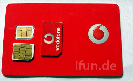 nano sim karte vodafone Vodafone Germany Ready to Launch iPhone 5 Nano SIM Cards