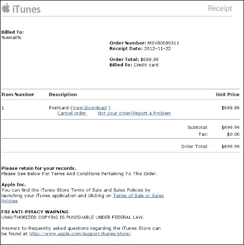 Receipt Generator Word Fake Itunes Invoices And Irs Warnings Are Leading Windows Malware Revenue Receipt Cycle Pdf with How To Make A Fake Invoice Word  Invoice Fakeitunesinvoiceblackholeapple Money Receipt Format Doc Pdf