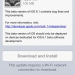 Download iOS 6.1 Beta 3 Seeded by Apple for Developers (Download Links)