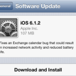Apple Released iOS 6.1.2 (10B146) to Fix Exchange Calendar Bug