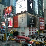 LG Picks on Samsung Be Ready 4 The Next Galaxy Teaser at Times Square