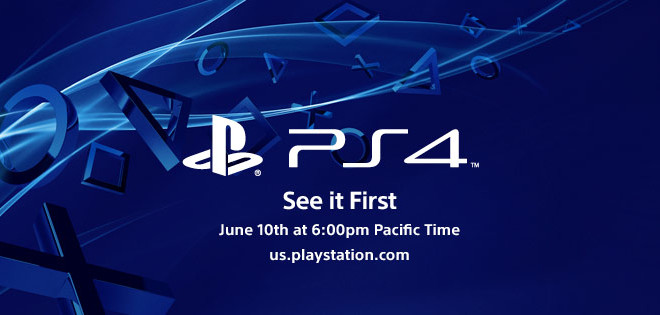 Sony Invites for PlayStation 4 Release Date on June 10 After WWDC 13