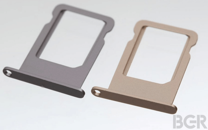 iPhone 5S SIM Trays in Multiple Colors Leaked  Details