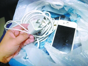 Knockoff iPhone 4 Charger