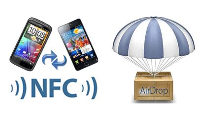 NFC vs AirDrop